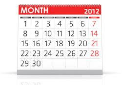Image of Calendar (250 X 175)