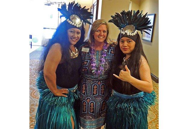 Legacy at Falcon Point's Luau Celebration