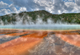 Grand Prismatic Spring and thermophiles