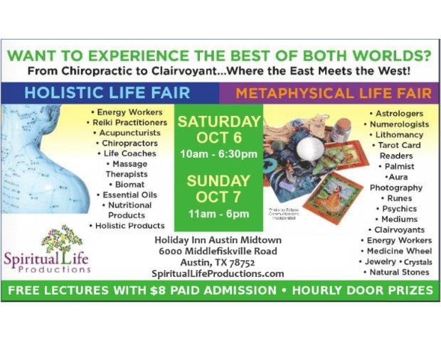 Austin Metaphysical & Holistic Life Expo - srgserv com