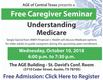 Understanding Medicare Caregiver Seminar ageofcentraltx.org.png