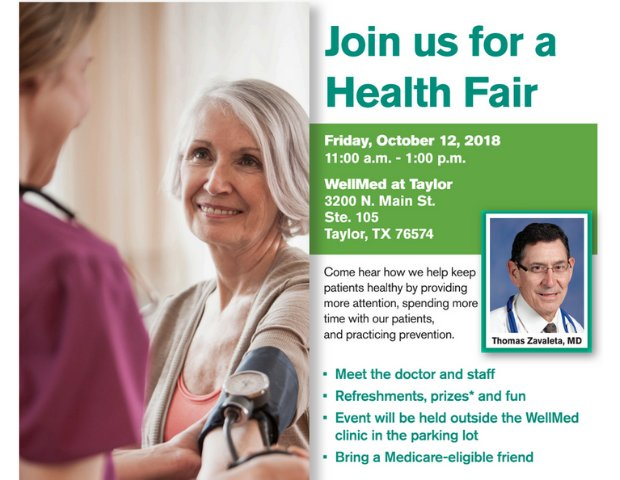 WellMed at Taylor Health Fair.png