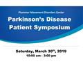Parkinson's Disease Patient Symposium.png