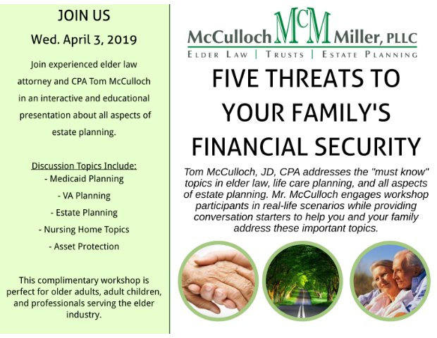 Five Threats to Your Family's Financial Security 4.3.19.png