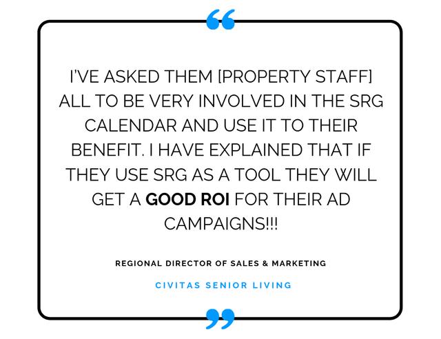 SRG Testimonial_Regional Director of Sales & Marketing_Civitas Senior Living