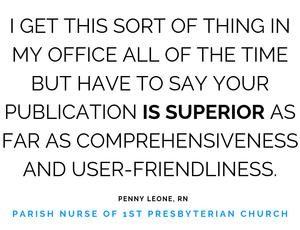 Parish Nurse Testimonial