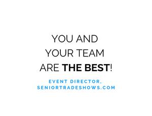 Senior Trade Shows Testimonial