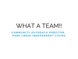 Park Creek Independent Living Testimonial