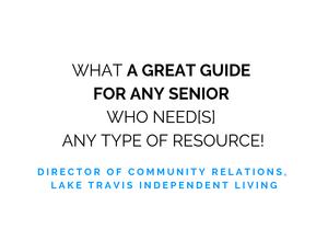 Lake Travis Independent Living Testimonial
