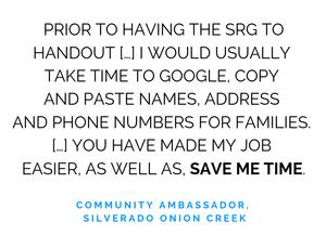 Silverado Onion Creek Testimonial 3