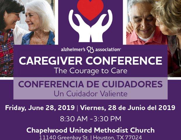 2019 Caregiver Conference: The Courage to Care - srgserv com