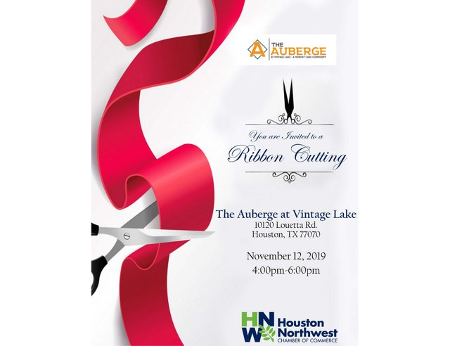 The Auberge at Vintage Lake Grand Re-Opening and Ribbon Cutting