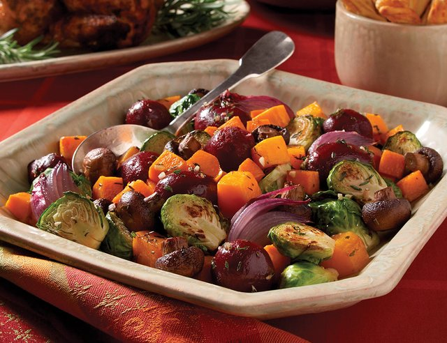 Hearty Roasted Winter Vegetables
