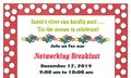 Baywood Crossing December 2019 Networking Breakfast Flyer