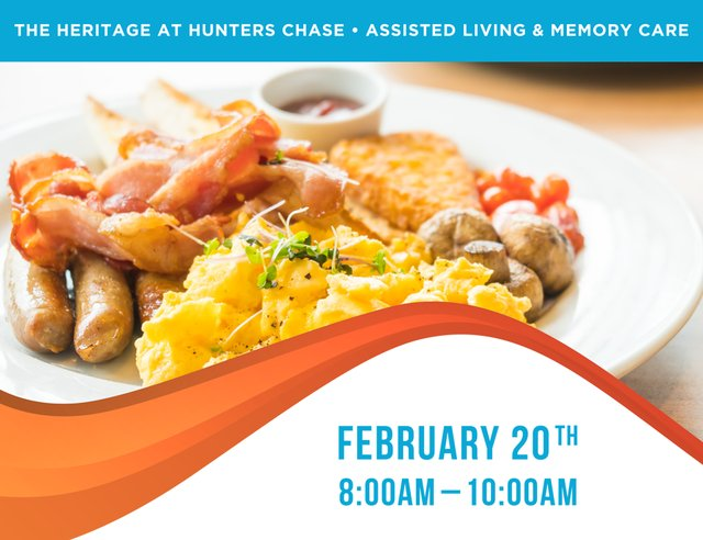 CEU Breakfast at The Heritage at Hunters Chase