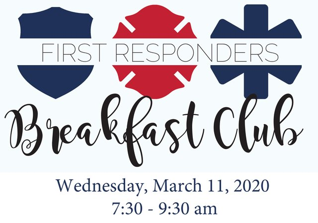 First Responders Breakfast Club at Clayton Oaks Living