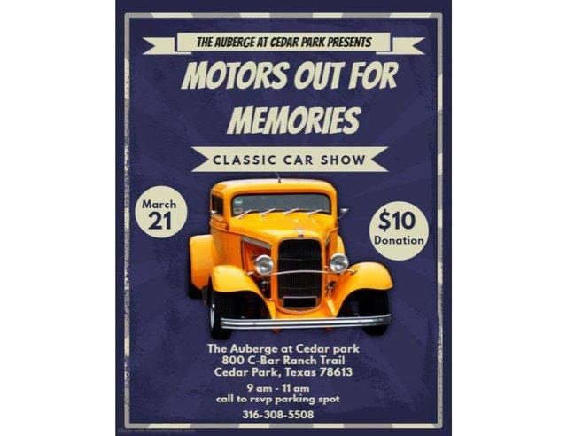 Motors Out For Memories