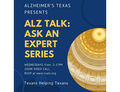 Virtual Event Alz Talk Ask An Expert Series