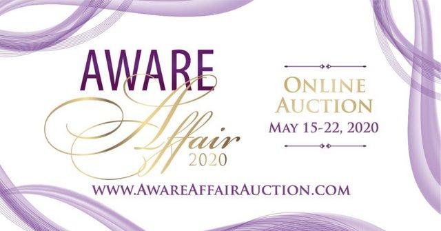2020 AWARE Affair Online Auction
