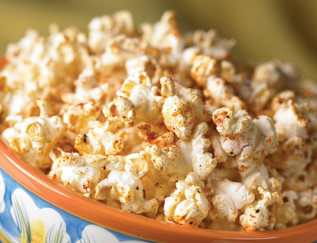 Crispy Cajun Popcorn