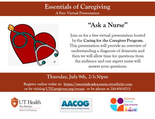 Essentials of Caregiving - Ask a Nurse