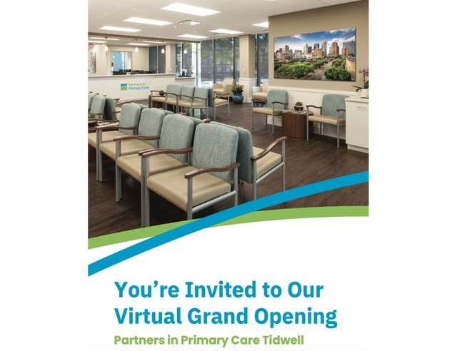 Virtual Grand Opening Partners in Primary Care Tidwell