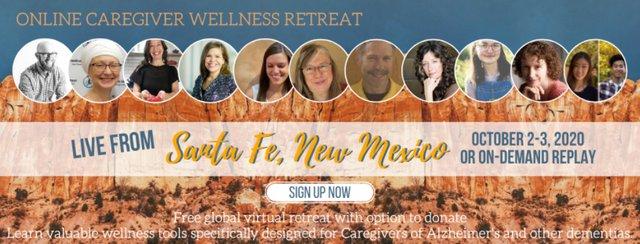 Online Caregiver Wellness Retreat