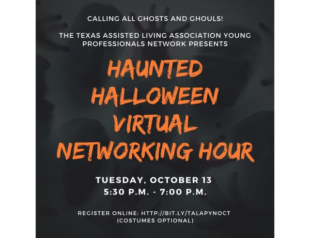 TALA Young Professionals Network Virtual Connection Hour Oct