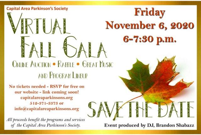 CAPS Virtual Fall Gala