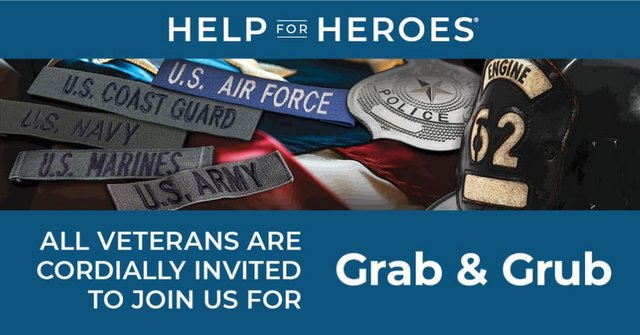 Veterans Day THANK YOU Grab & Grub at Rock Springs