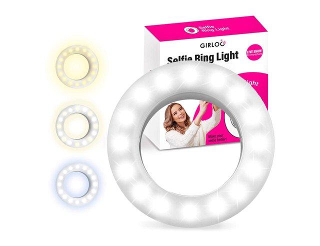 Selfie Ring Light Portable Clip On Led