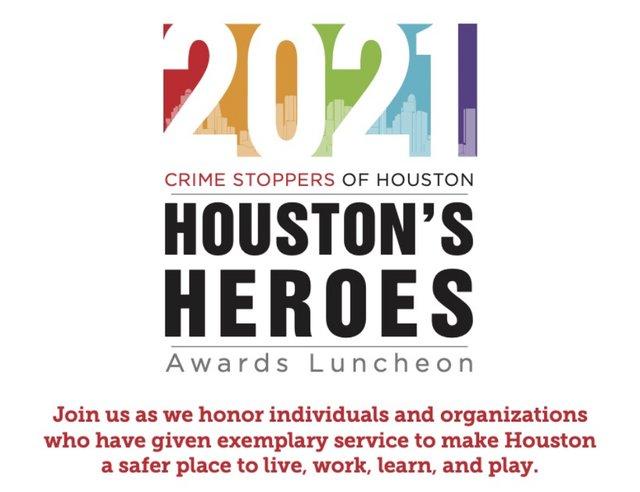 2021 Houston's Heroes Award Luncheon