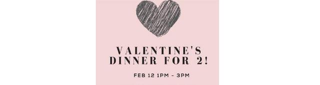 Valentine's Dinner To-Go for 2