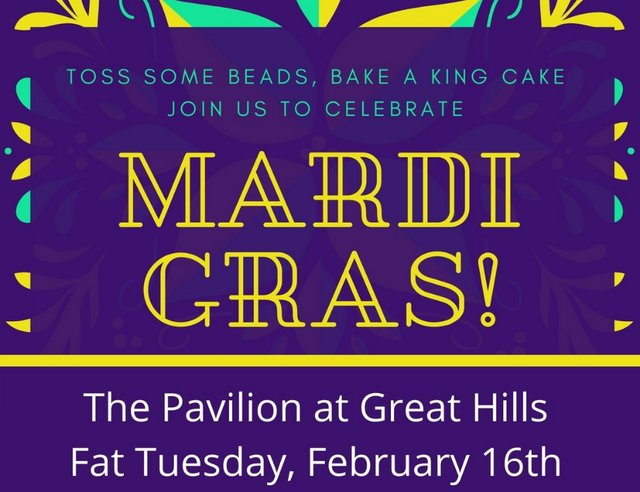 Mardi Gras at The Pavilion at Great Hills