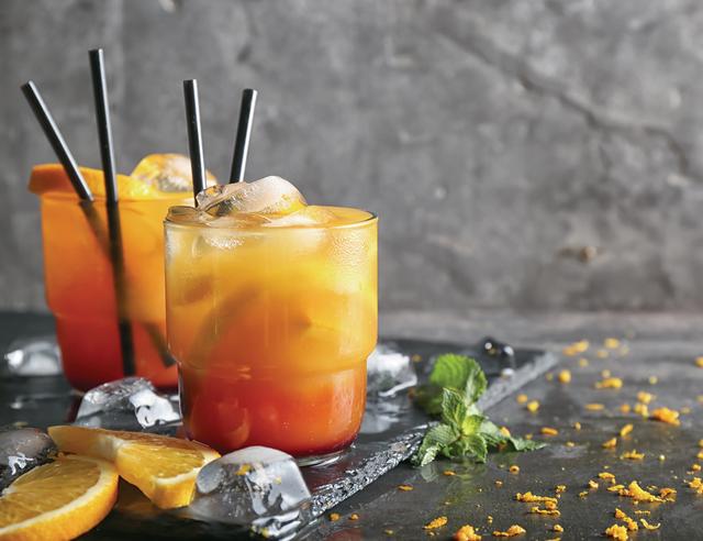 Spiced Citrus Ginger Mocktail