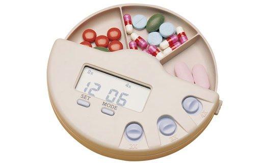 Multi-Alarm Pill Box