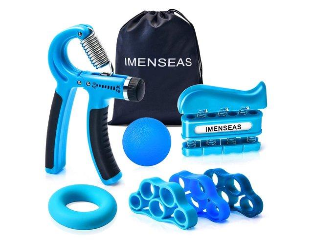 IMENSEAS Hand Grip Strengthener 7 Pack
