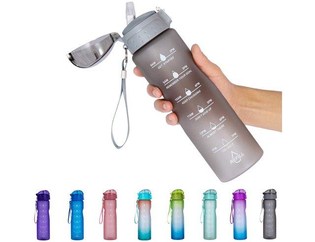 NOOFORMER 24oz 32oz Motivational Water Bottle