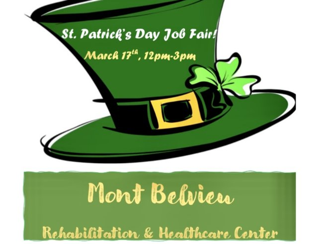 St. Patrick's Day Job Fair