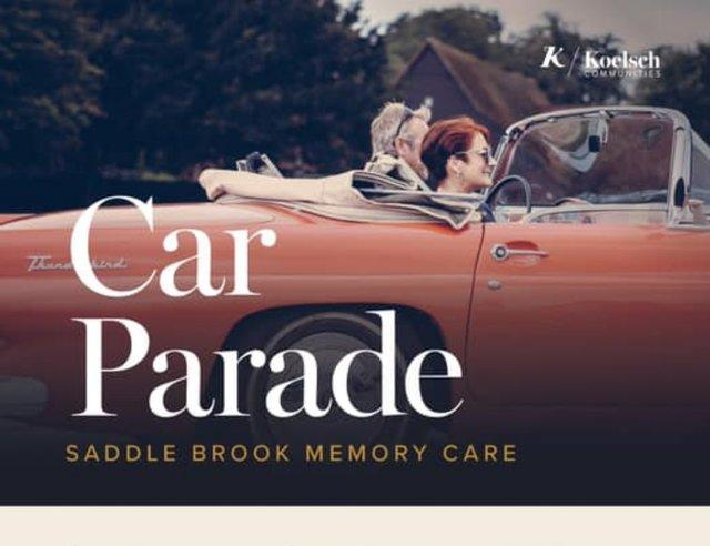 Car Parade at Saddle Brook Memory Care