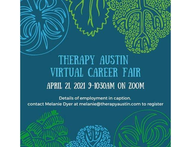 Therapy Austin Virtual Career Fair