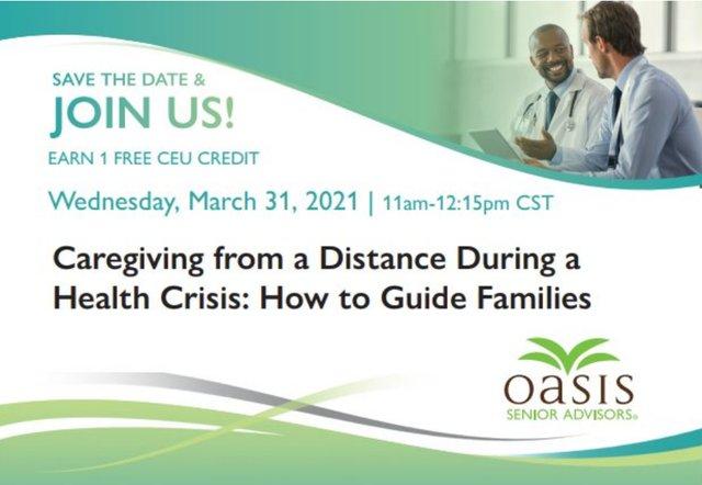 Oasis Senior Advisors Free CEU Event