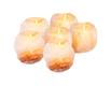 Mockins 6 Pack Natural Himalayan Salt Tea Light Candles Holder