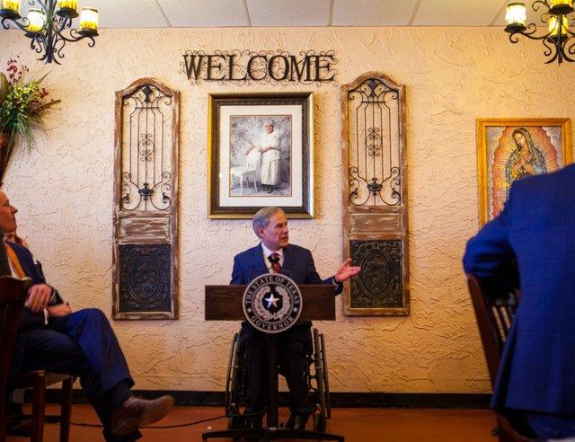 Governor Abbott Lifts Mask Mandate Opens Texas 100 Percent