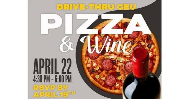 Drive-Thru CEU Pizza & Wine