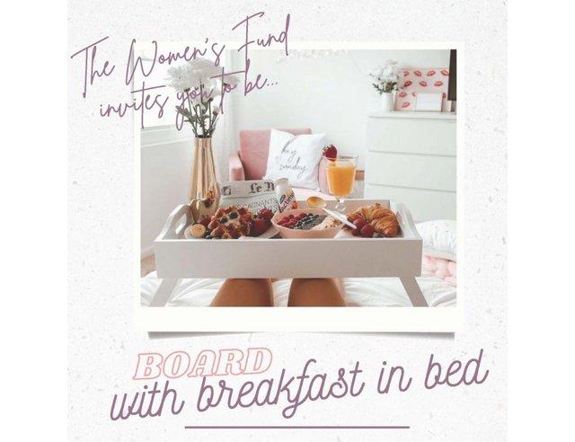 Board with Breakfast in Bed