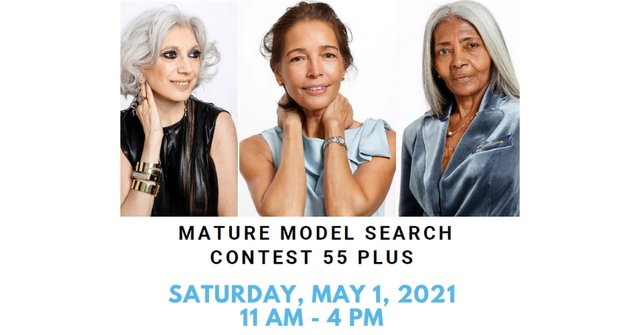 Mature Model Search Contest for 55+