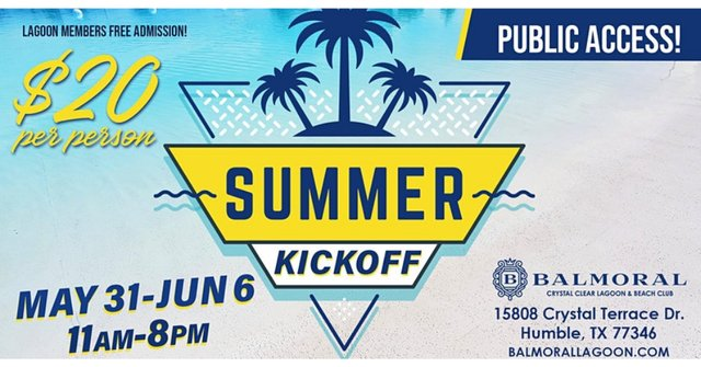 Balmoral Summer Kickoff