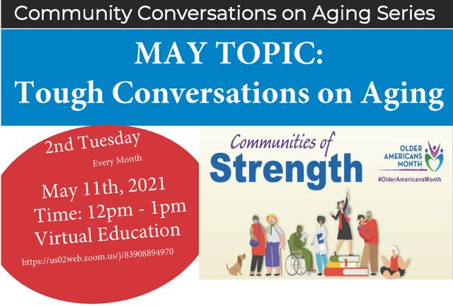 Community Conversations on Aging Series
