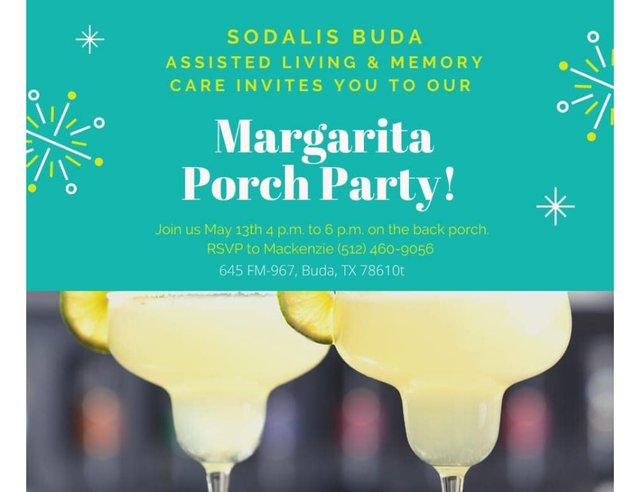 Margarita Porch Party at Sodalis Buda